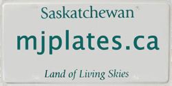 Moose Jaw Plates | Saskatchewan